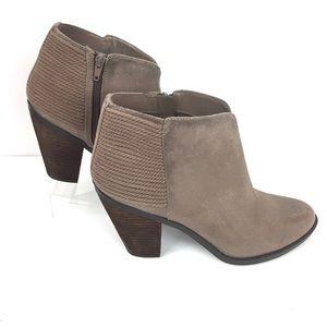 Carlos Tan Ankle Booties Size 11